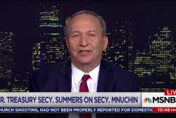 Fmr. Treasury Secretary Summers slams tax...