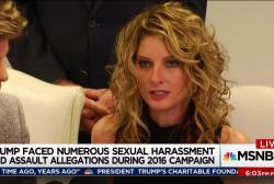 Trump sex harassment accuser seeks documents