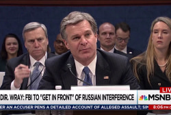 Wray surprises with mention of task force