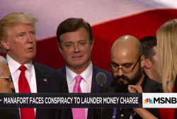 Manafort indicted, dark past coming to light