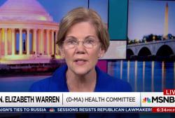 "Warren: GOP tax/health bill a ""double punch"""