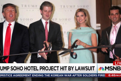 Trump hotel owner pays Trumps to leave