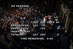 House passes GOP tax bill with future...
