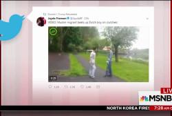 Trump re-tweets shocking anti-Muslim videos