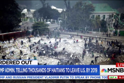 Trump admin. tells thousands of Haitians...