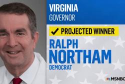 NBC News: Democrat Wins VA Governor's Race