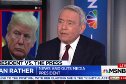 Dan Rather comments on Trump's attacks on...