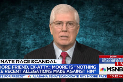 "Roy Moore friend: ""This is not the Moore I..."