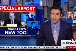 Ari Melber breaks story on Mueller's path...