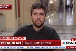 Health care activist Ady Barkan slams GOP after House approves tax bill