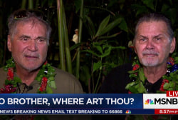 Longtime friends learn after DNA test they're brothers