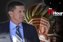Flynn sent text on Russia minutes into...