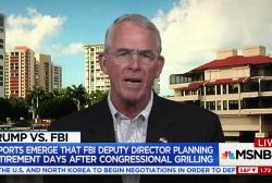 GOP Congressman calls for 'purge' of FBI