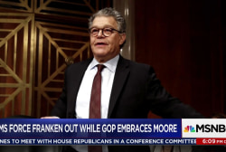 Franken resigns amid sexual harassment...