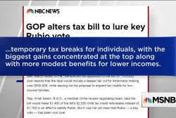 Corker, Rubio flip to yes on GOP tax bill
