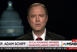 """I find this deeply disturbing"" -Rep. Adam Schiff on White House interference into DOJ"
