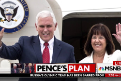 Second Lady Karen Pence finds Trump ...