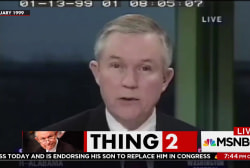 Sessions on obstruction of justice: No one...
