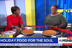 Melba Wilson of Melba's in Harlem on holiday food for the soul!
