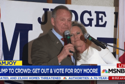 Roy Moore: 'Democratic party wins either way on this'