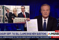 Lawrence: Treasury's defense of GOP tax cut is a lie