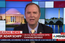 Schiff: GOP will protect Trump at all costs