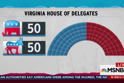 Virginia Democratic landslide gets them a tie