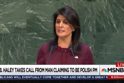 Haley duped in call with fake leader: report