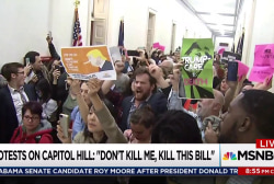 Protesters besiege GOP congressional offices