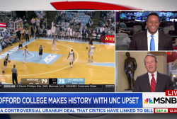 Wofford College Makes History with UNC upset