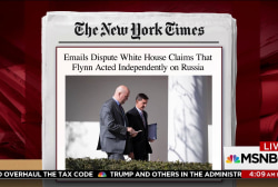 Emails show Flynn in close touch with...