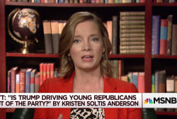 Is Trump causing young Republicans to leave the party?