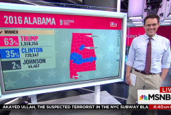 What Kornacki's map says about a Jones win