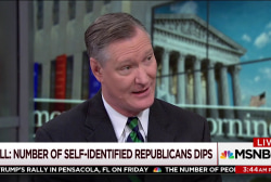 GOP ID dips, but congressman has a plan