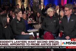 Trump lawyers want to investigate DOJ investigators: report