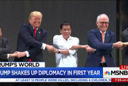 Trump shakes up diplomacy in first year
