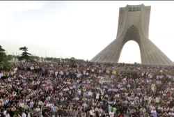 How do protests in Iran differ from 2009?