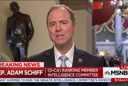Schiff on Flynn: This is clearly not the...