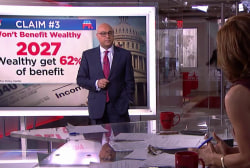 How has the Senate's tax proposal failed to keep promises?