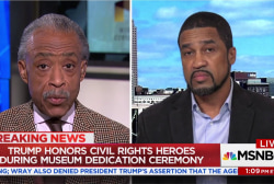 Rev. Al Sharpton and Darrell Scott spar over Trump civil rights speech