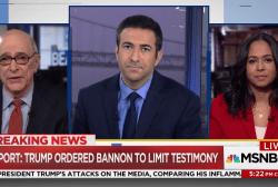 Trump told Bannon not to talk in Russia probe, new report