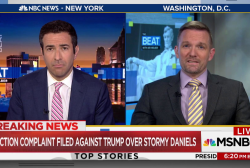 Watch the MSNBC interview that supports Trump and Stormy Daniels