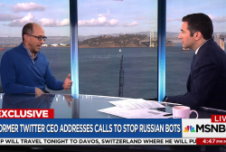 Fmr. Twitter CEO: It's hard to stop Russian bots