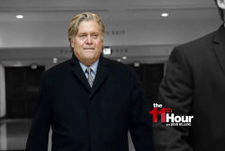 House Democrats have more questions for Steve Bannon