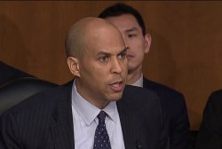 Cory Booker criticizes DHS Secretary over Trump meeting