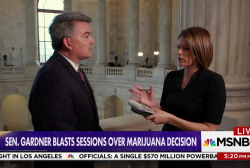 Sen. Gardner: Jeff Sessions 'went back on his word' on marijuana policy