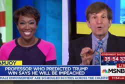Man who predicted Trump win predicts impeachment