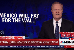 Lawrence: Shutdown looms because Trump failed on wall