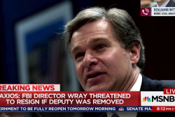 Wray almost quit over push to fire McCabe: Axios