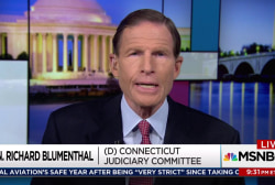 Blumenthal: Make Trump Jr testimony public